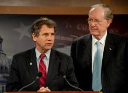 Sen. Brown and Sen. Rockefeller