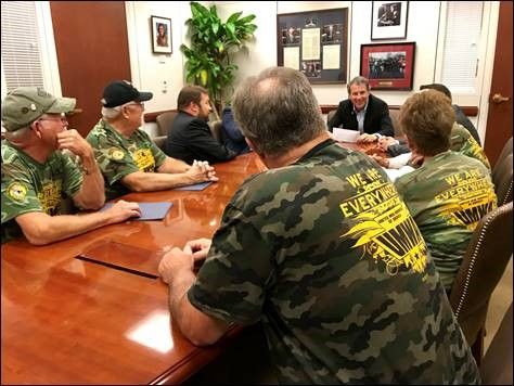 BROWN MEETS WITH OHIO MINEWORKERS AS HE CONTINUES PUSH TO PROTECT PENSIONS, KEEP PROMISES...…<a href=