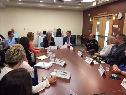 Brown Hosts Roundtable Discussion in Findlay As He Works To Address Workforce Shortage Created By Addiction Epidemic