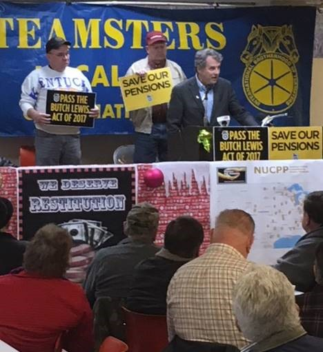 Brown Talks with Teamsters in Cincinnati