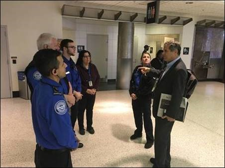 Brown meets with TSA in Cleveland