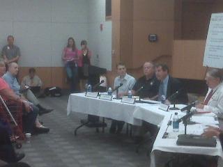 Sen. Brown speaks in Columbus