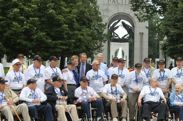 Honor Flight WWII Veterans From Northeast Ohio