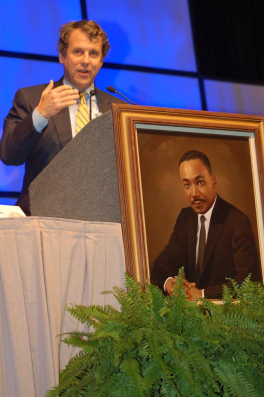 Senator Brown Honors Martin Luther King Jr