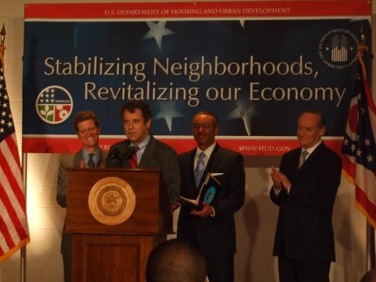 Rebuilding Columbus' neighborhoods funding announcement with HUD Secretary Shaun Donovan