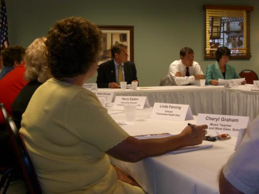 Roundtable With Community Leaders In Tuscarawas County