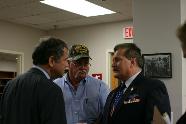 Discussing the VA backlog in Toledo