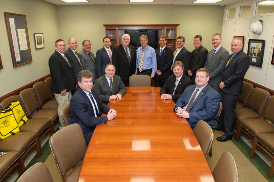 Meeting with the Ohio Association of Professional Fire Fighters