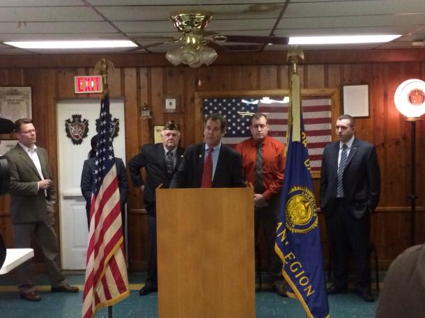 Meeting with Veterans in Dayton