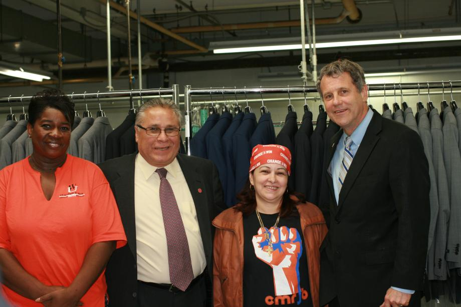 Announcing 160 Saved Jobs at Hugo Boss plant in Brooklyn, Ohio