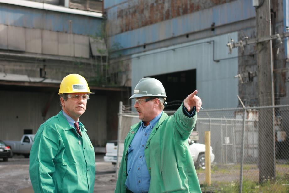 Visiting Warren Steel Holdings