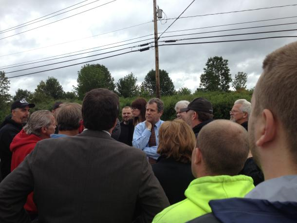 Meeting with workers at Aurora's Rotek