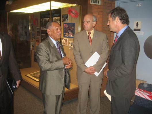 Sen. Brown Joined NASA Administrator Bolden at NASA Glenn Research Center
