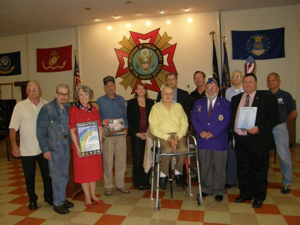 Meeting Veterans in Mahoning County
