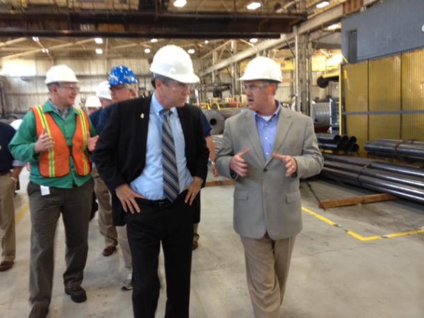 Visiting Wheatland Tube In Warren & Highlighting Mahoning Valley Steel Jobs Created And Saved Through Trade Enforcement