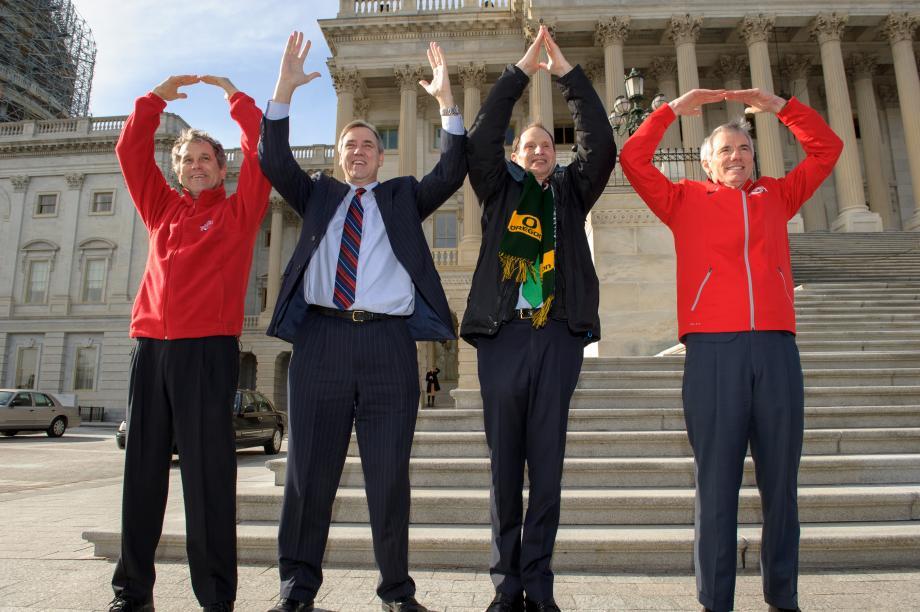 Celebrating Ohio State's National Championship