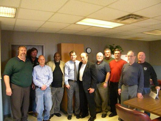 Sen. Brown Meets with Tri-County Regional Labor Council