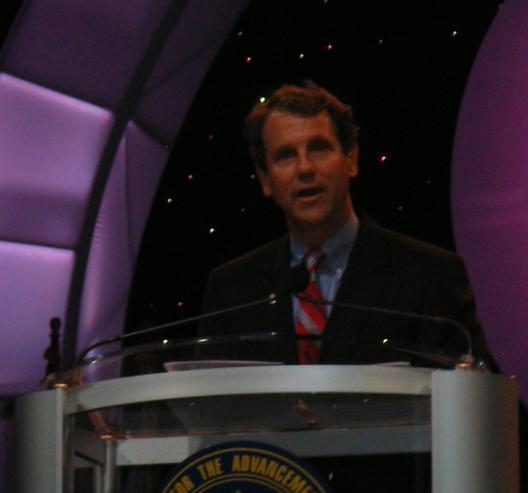 Senator Brown at the NAACP 99th Annual Convention in Cincinnati