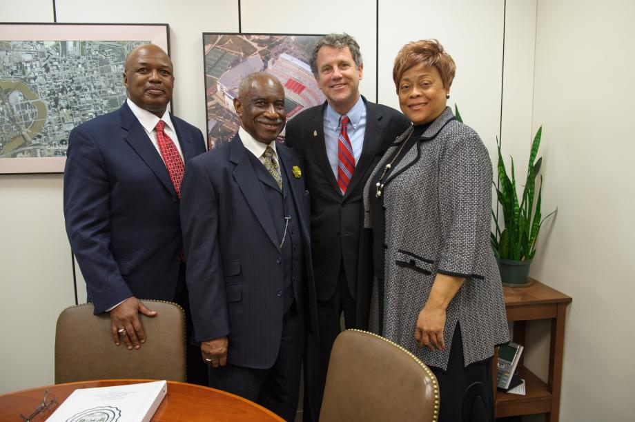 Meeting with Wilberforce University President