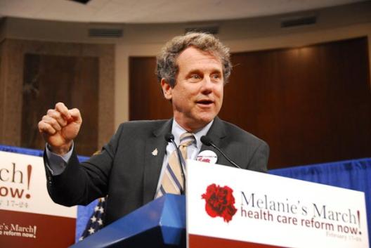 Sen. Brown Joins Health Care Advocates at Rally For Comprehensive Health Reform
