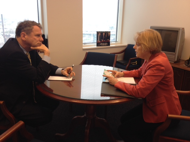 Sen. Brown Meets With Polish American Congress