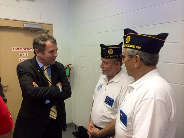 Meeting with Veterans in Mahoning Valley