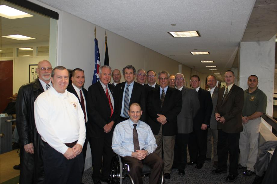 Meeting with the Fraternal Order of Police of Ohio