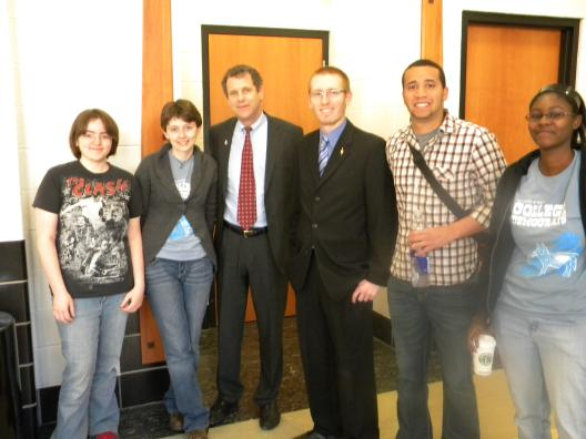 Sen. Brown, University of Toledo Students Discusses College Affordability