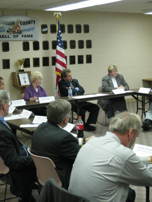 Senator Brown Holds Roundtable With Community Leaders In Harrison County