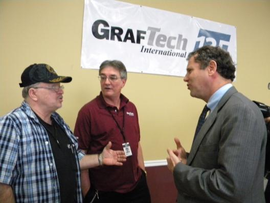 A Visit to Cleveland's GrafTech