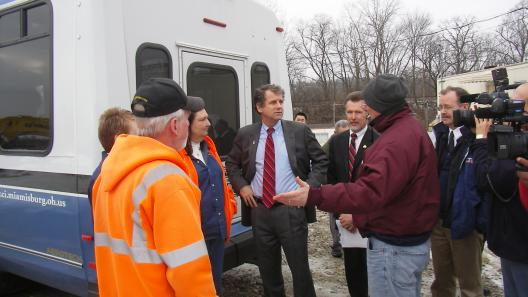 Sen. Brown Tours Mound Site Clean-Up And Holds Round Table Discussion Part II