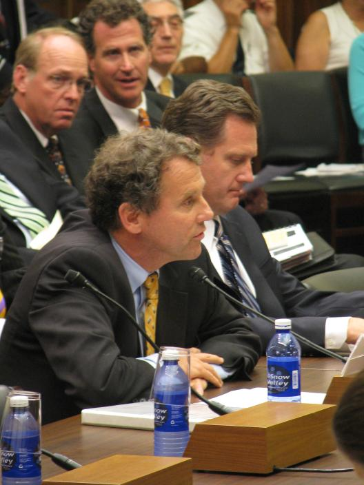 Senator Brown Joins Pilots, Testifies before House Transportation Committee on DHL-UPS Proposal