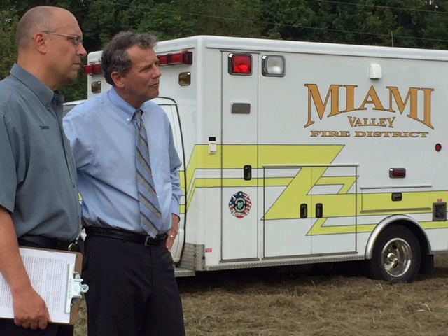 In Miamisburg Calling for Strong Safety Standards for Railcars Transporting Hazardous Liquids