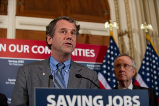 Sen. Brown discusses efforts to prevent mass layoffs of Teachers and First Responders