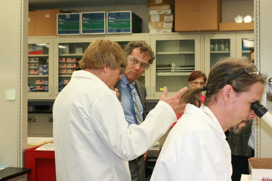 Visiting Cincinnati's EPA Lab