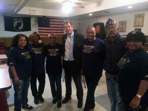 Meeting with Veterans in Steubenville
