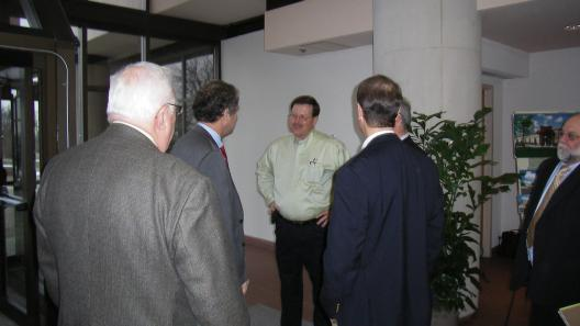 Sen. Brown Tours Mound Site Clean-Up And Holds Round Table Discussion