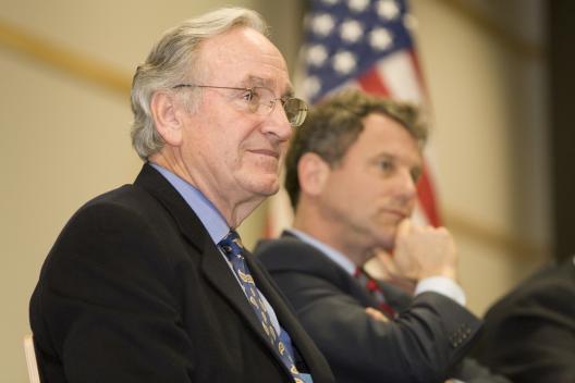 Senator Brown and Senator Harkin of Iowa host a Farm Summit in Columbus