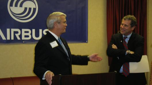 Sen. Brown, Airbus Americas Chairman Address Third Airbus Ohio Supplier Summit in Columbus