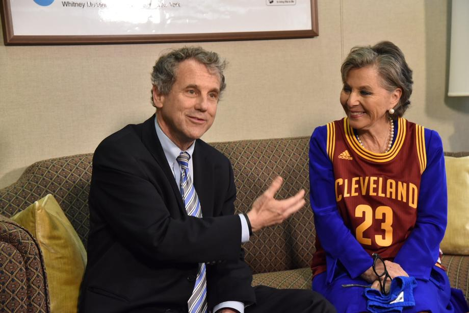 2016 NBA Finals Wager with Sen. Boxer