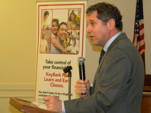Brown Discusses New Bill Aimed at Preventing 'Senior Scams' at Keybank Financial Education Workshop for Seniors