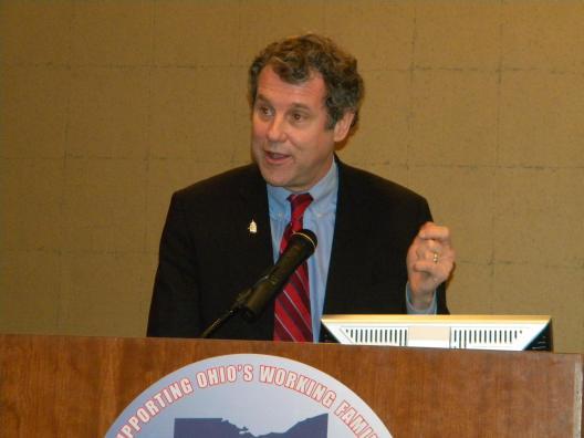 Sen. Brown addresses the Ohio AFL-CIO Executive Board