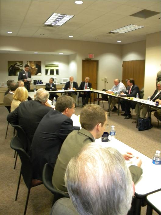 Sen. Brown speaks at the Springfield Chamber of Commerce
