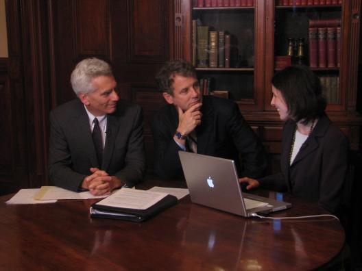 Sen. Brown leads online chat on health reform with White House Economic Advisor