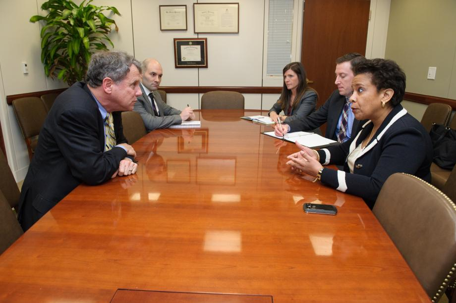 Meeting with Loretta Lynch, Nominee for U.S. Attorney General