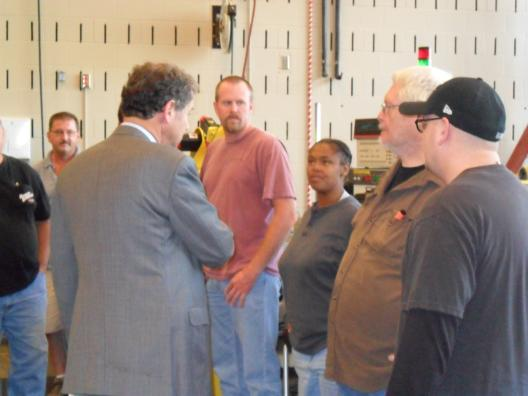 Sen. Brown Joins Displaced Autoworkers at Sinclair Community College to Outline Job Retraining Agenda