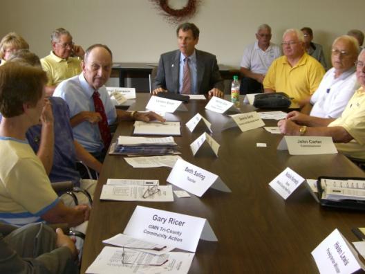 Senator Brown around Ohio, June 30 to July 2, 2008