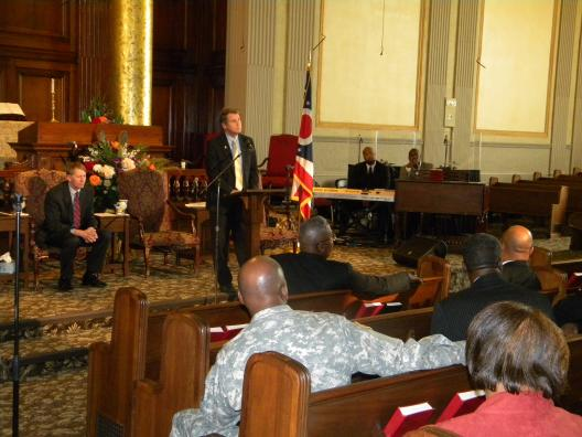 Sen. Brown Discusses Jobs, Housing, and Education with Black Clergy Leaders in Cleveland
