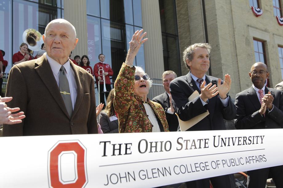John Glenn College of Public Affairs Dedication Ceremony