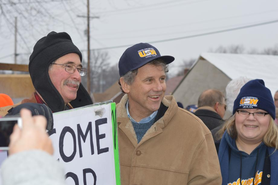 Rallying with Locked-Out Steelworkers in Stark County